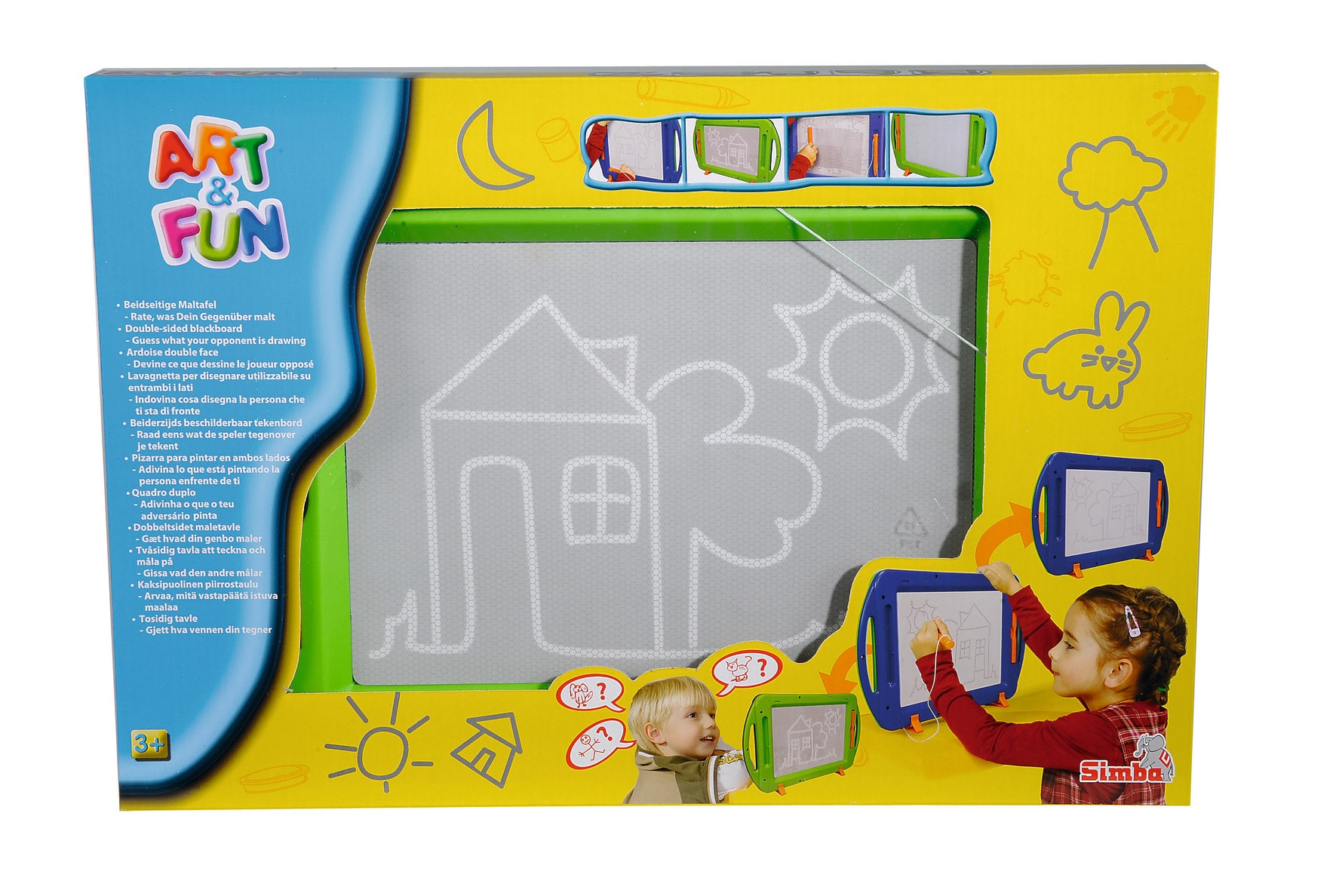 Simba Toy Dbl Sided Drwng Board 6337136
