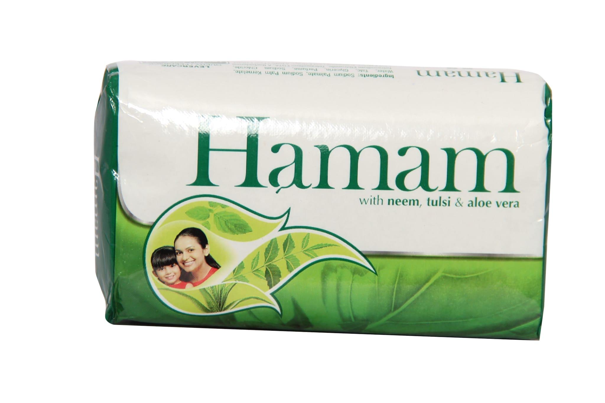 Hamam Bath Soap With Neem, Tulsi & Aloe Vera