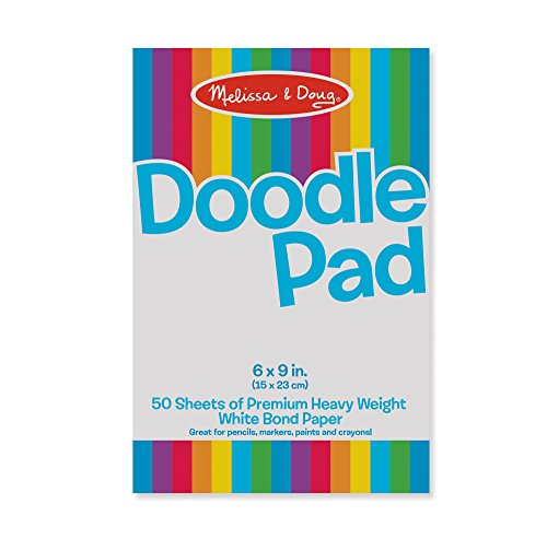 Melissa And Doug Doodle Pad (6 X 9 In.) Bond Paper