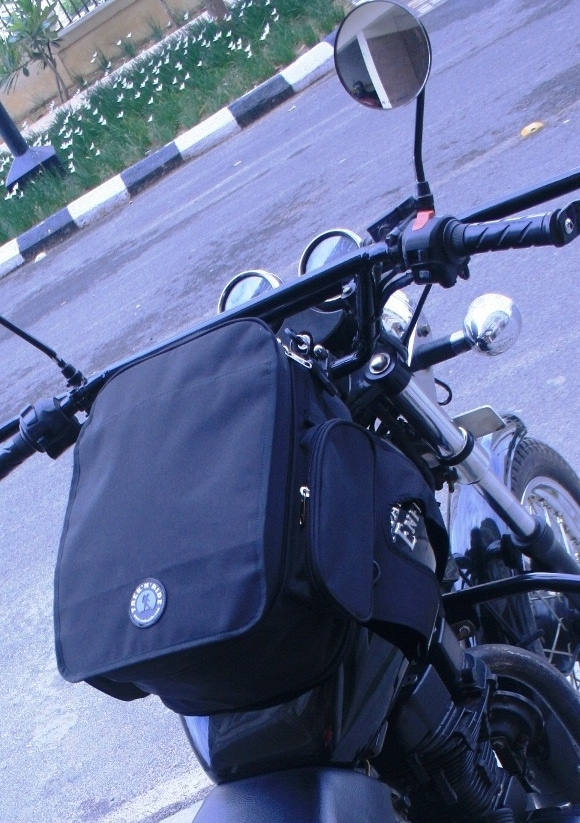 Motorcycle Magnetic Tank Bag With Rain Cover
