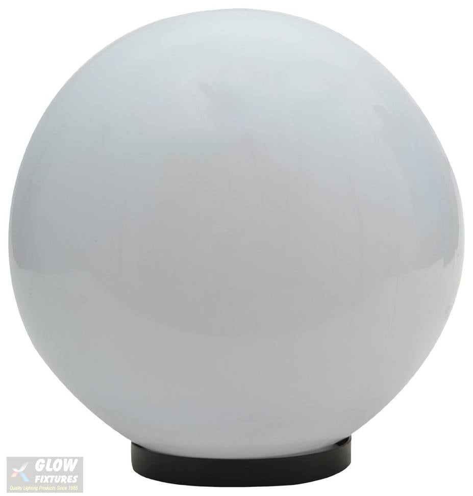 Glow Fixtures Garden Gate Light Milky Dome Large -- Product Code: GL1238FIB-REG