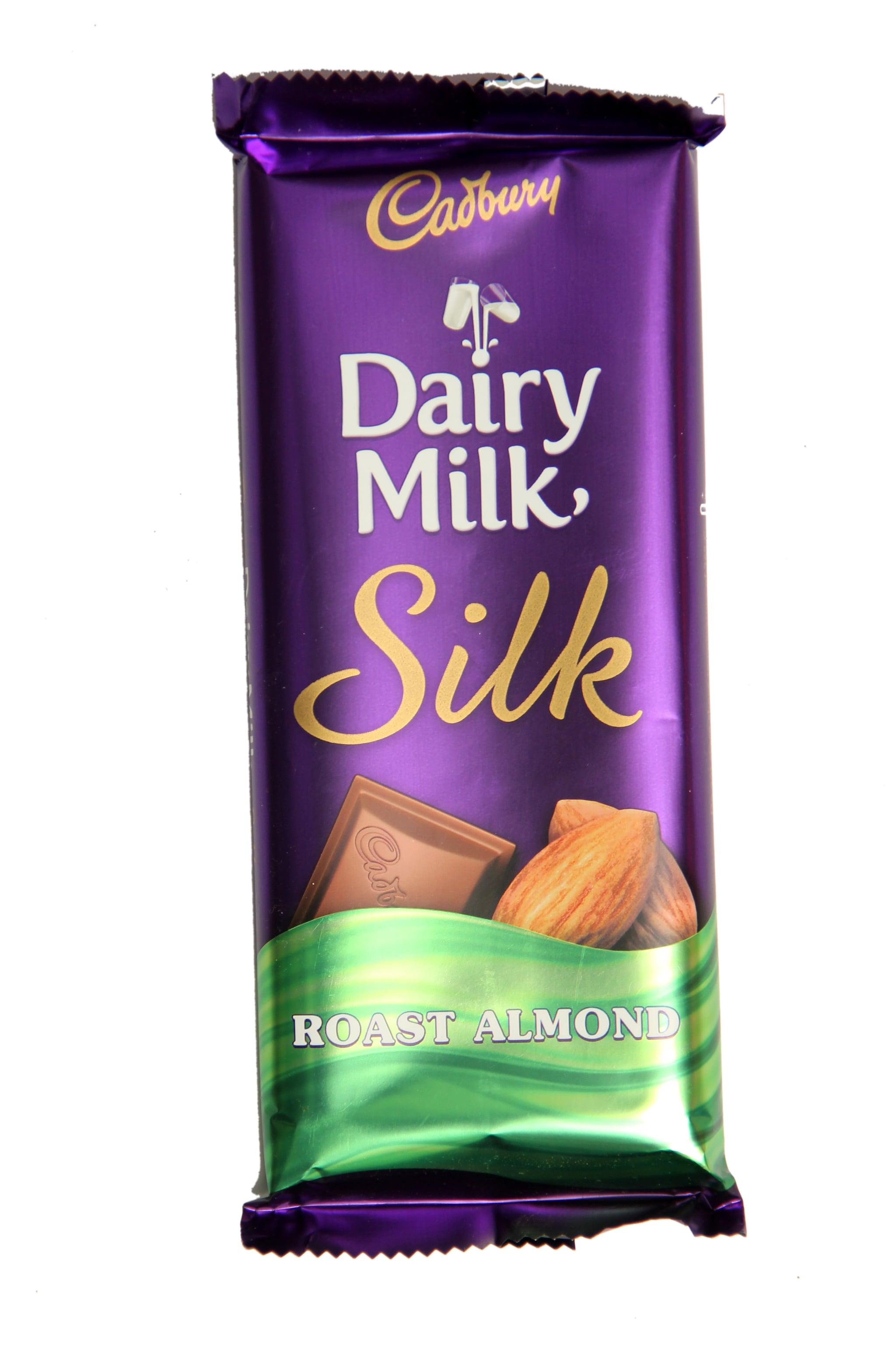Cadbury Dairy Milk Silk Roast Almond Chocolate - 150 Gm