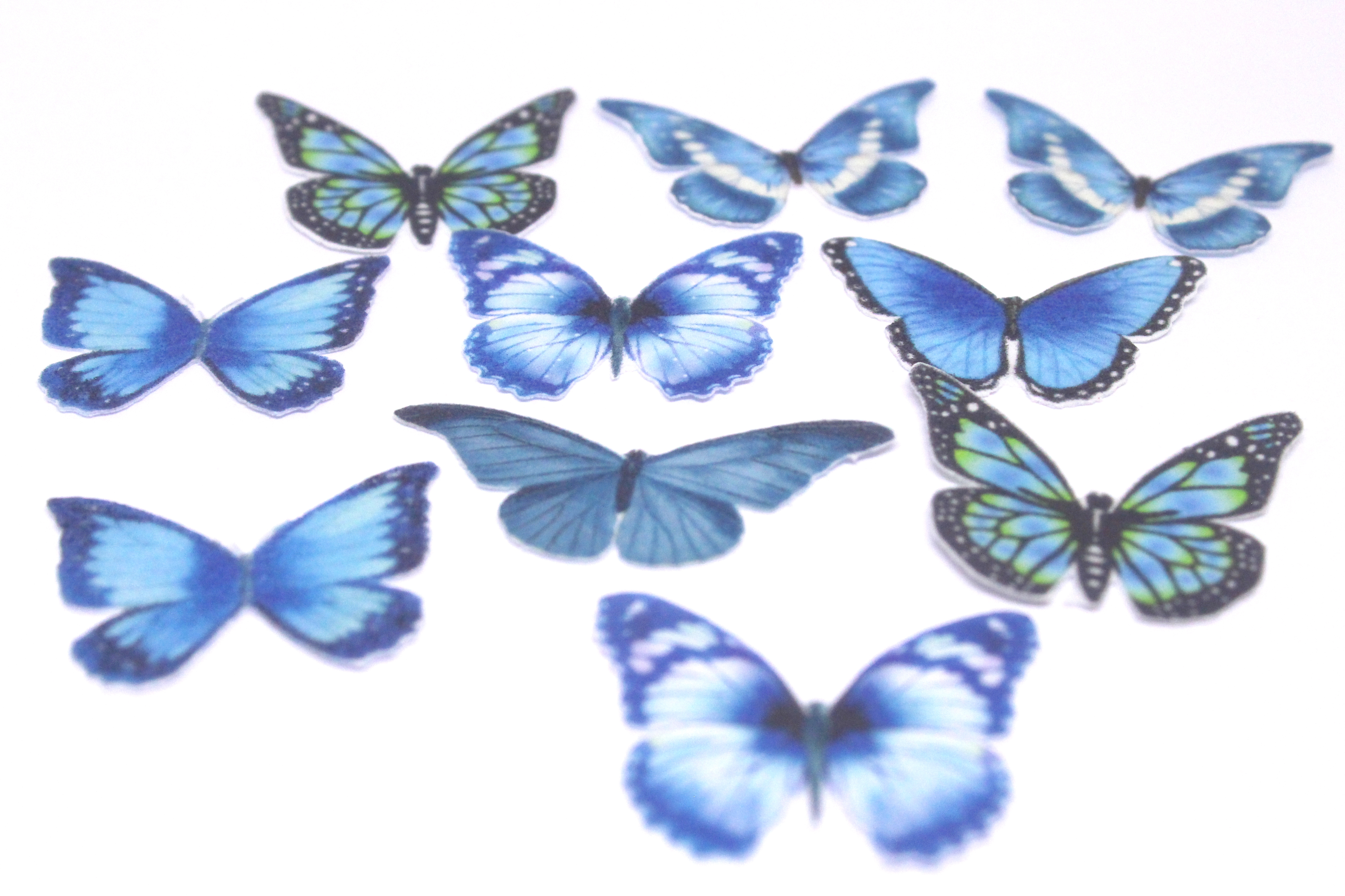 Butterfly Wafer Design Cutouts