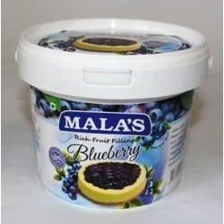 Malas Blueberry Rich Fruit Filling 1kg