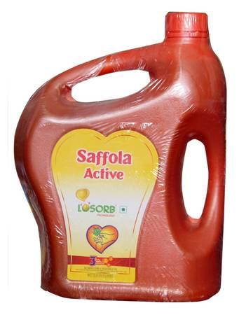 Saffola Active Cooking Oil - 5 Ltr