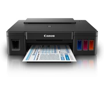 Canon G1000 Single Function Color Inkjet Printer (Black)