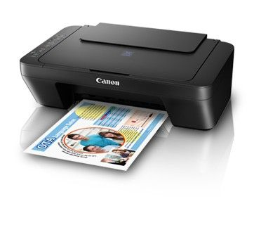 Canon Inkjet Multi-function Printer-Ink Efficient Pixma E470