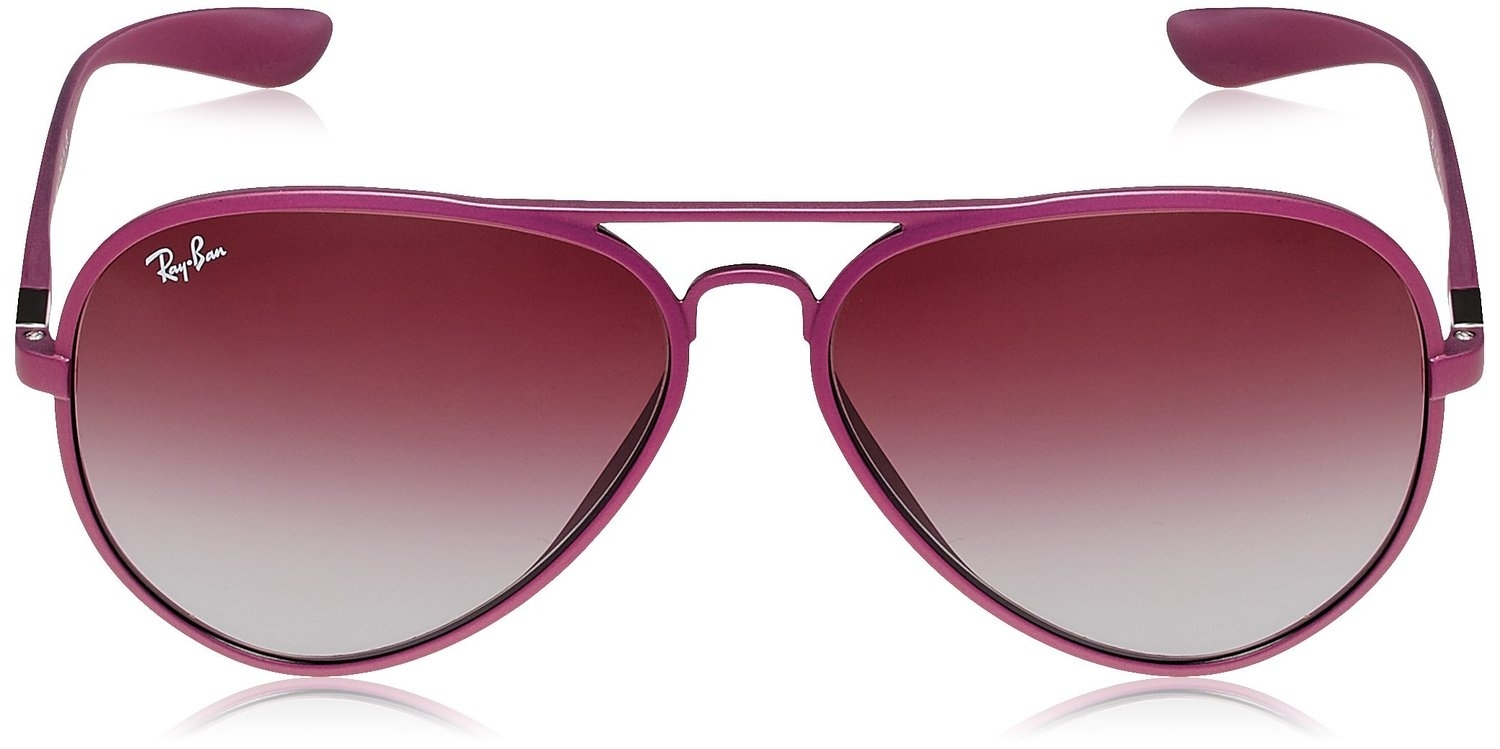 Ray Ban Liteforce RB4180 Sunglass Metallized Violet [6087/4Q]