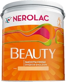 Nerolac Pearl Lustre Finish Paint - Green (1 Litre)