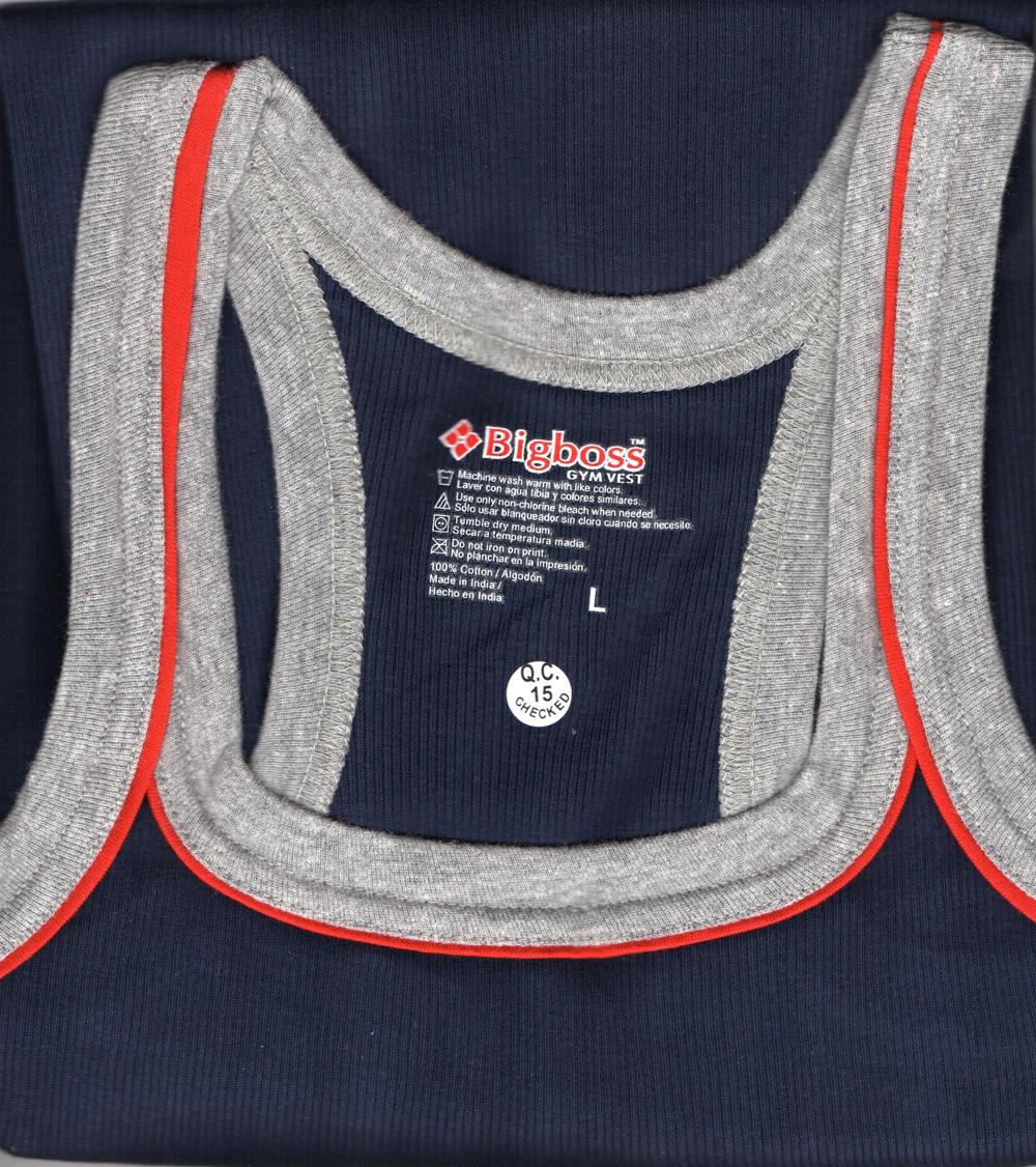 DOLLAR FORCE BIGBOSS COLOR RN Vest (XL,Blue)