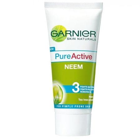 Garnier Pure Active Neem Face Wash - 50 Gm