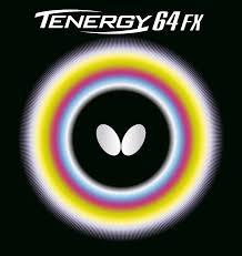 Butterfly Tenergy 64 Fx Black Table Tennis Rubber In