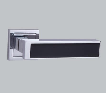 Ipsa Modern Nora Door Handle Black [NR OR] - Door Hardware ...