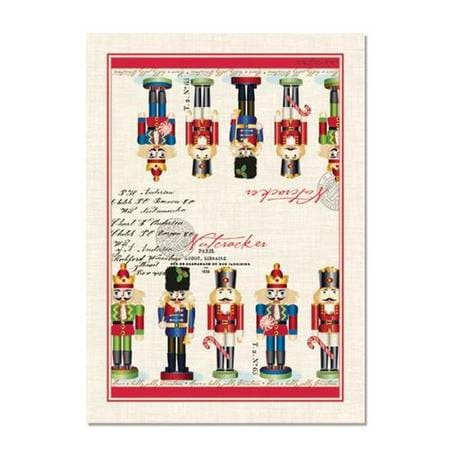 Michel Design Works Nutcracker Sweet Kitchen Towel