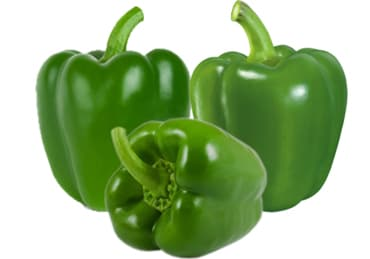 Capsicum Green/ Shimla Mirch - Kedia Farm Fresh (Weight Can Vary)