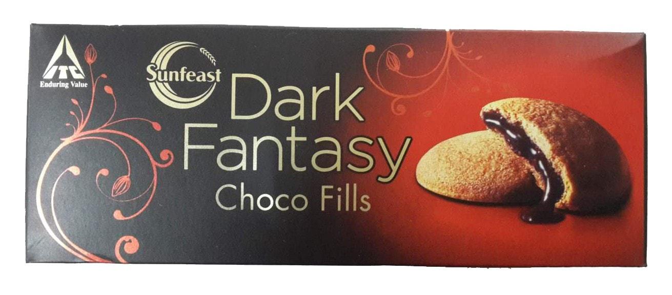 Sunfeast Dark Fantasy Choco Fills Biscuit 75 Gm