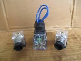 YUKEN DIN CONNECTOR -LED-A240 VALVE SPARE PART