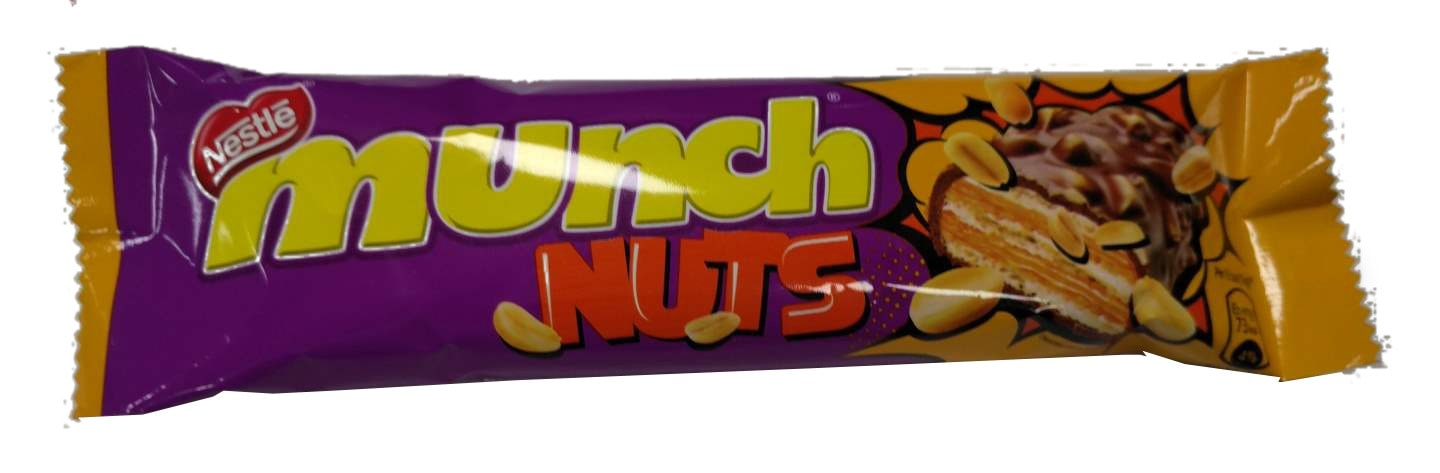 Nestle Nuts Munch Chocolate 32 Gm