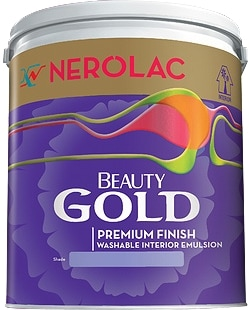 Nerolac Beauty Silver Paint - Neutral (10 Litres)