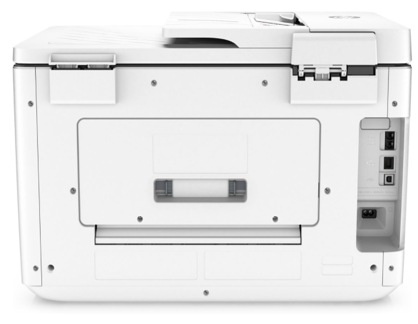 HP OfficeJet Pro 7740 Multi-Function Color All In One Printer (Black, White)