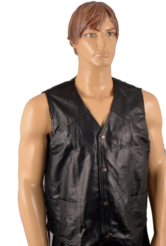 Leather Vest (2XL)