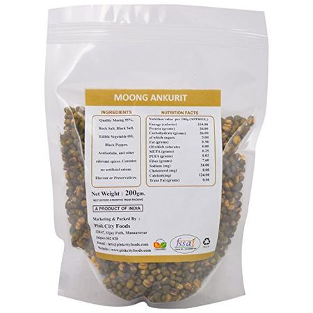 pink city foods roasted moong ankurit and chana jor pack of 2 200 gm