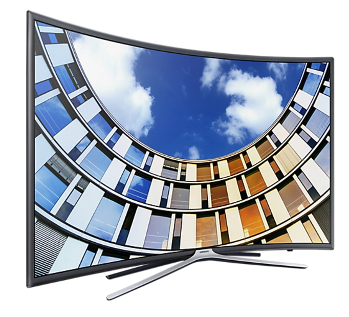 Samsung 140 Cm (55) Series 6 UA55M6300AKLXL Curved Television