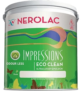 Nerolac Lotus Touch Paint - Red (20 Litres)