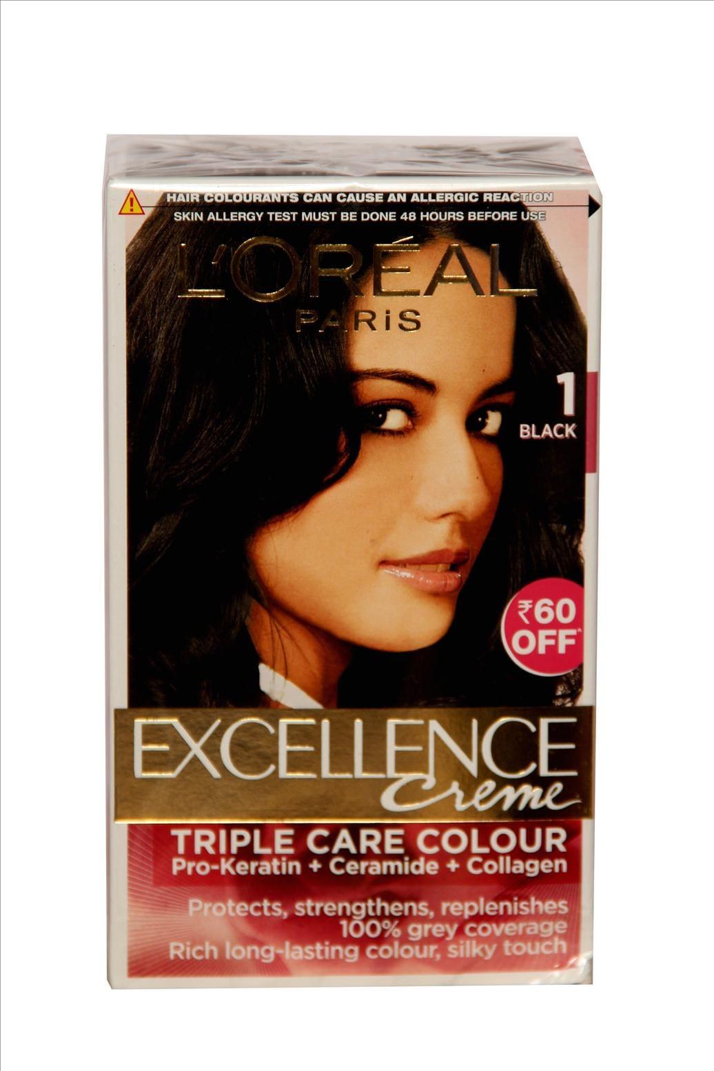L'Oreal Paris No.1 Black Hair Colour Cream