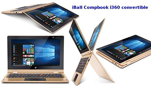 IBALL 11.6 INCH TOUCH SCREEN LAPTOPS-I360