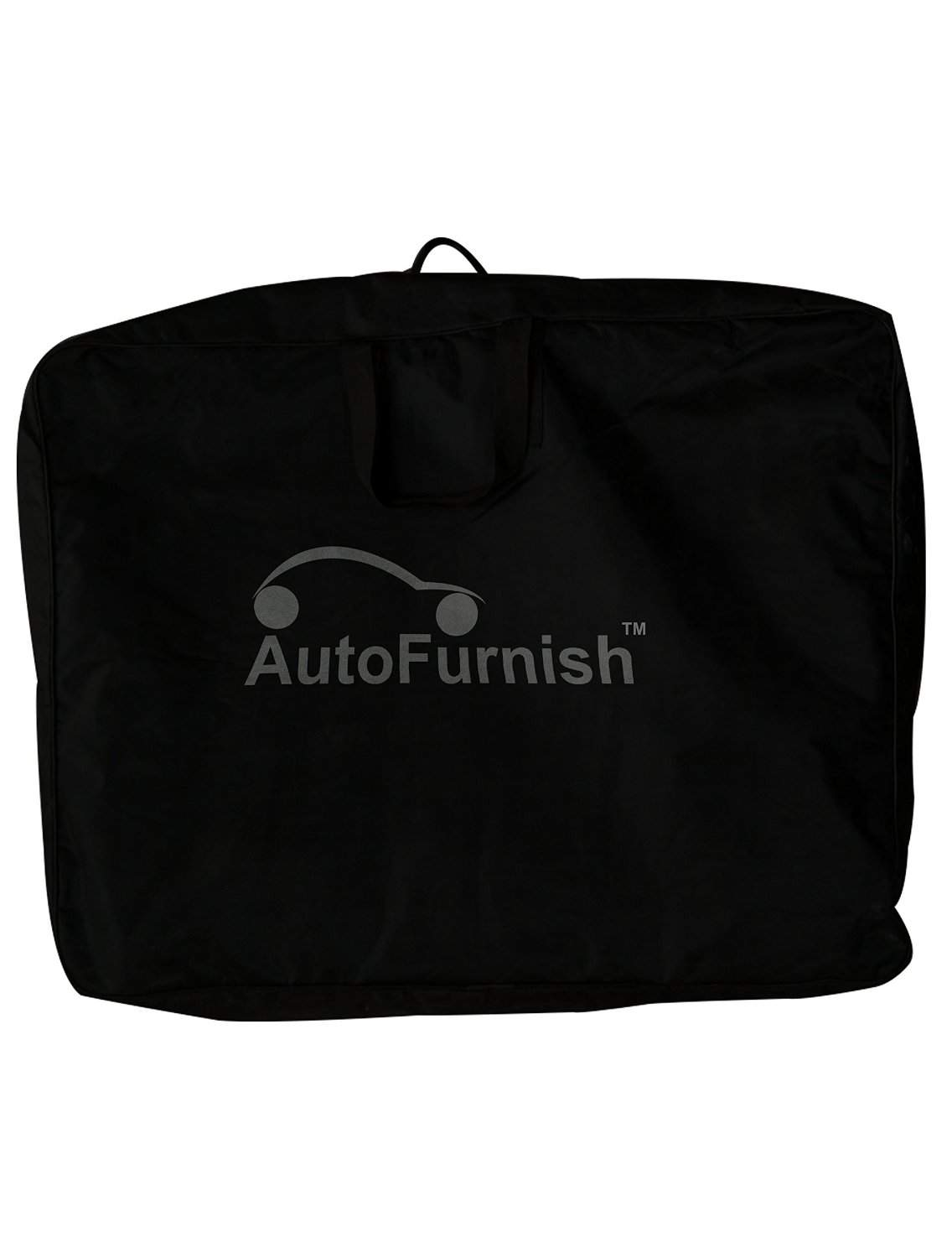 Autofurnish CZ-124 Togo Black Leatherite Seat Covers For Hyundai I10 Grand
