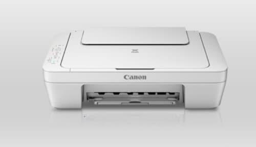 Canon MG2570 Multi-Function Color Inkjet Printer (White)