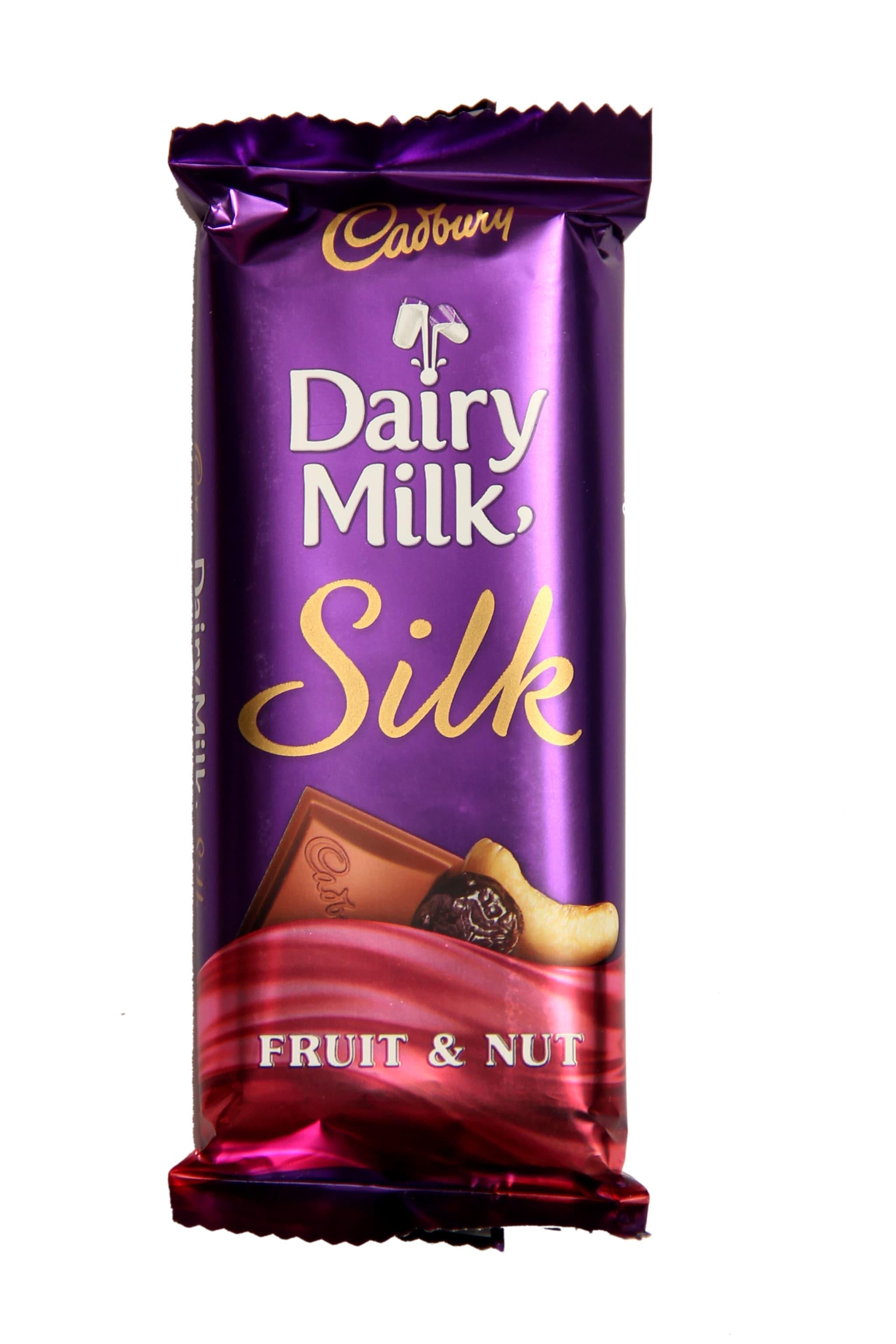 Cadbury Dairy Milk Silk Fruit & Nut Chocolate - 80 Gm