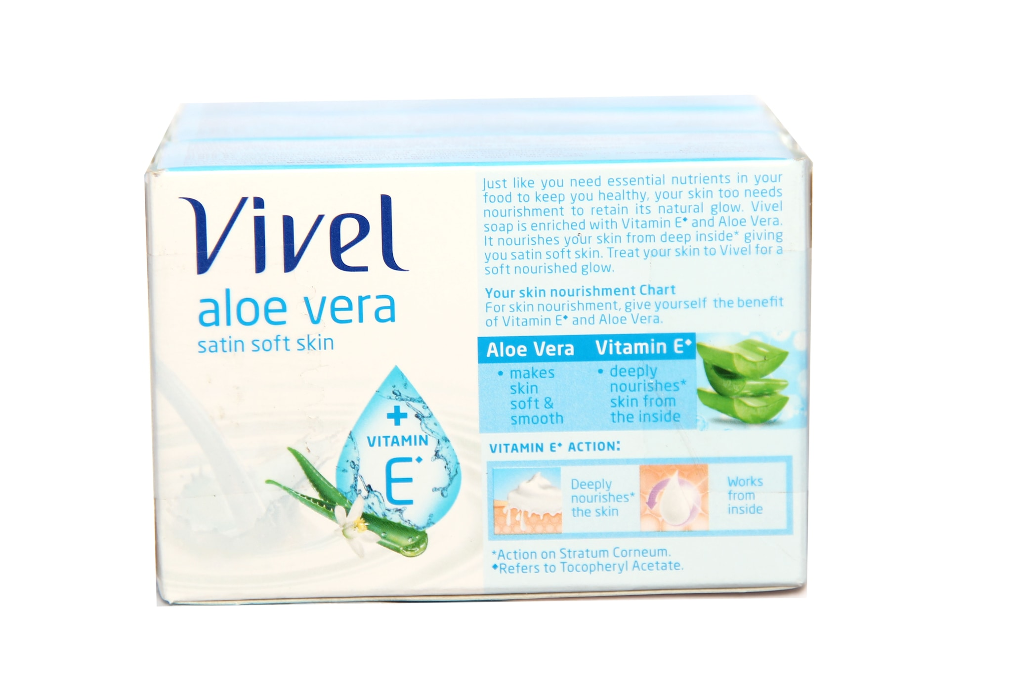 Vivel Aloe Vera Satin Soft Skin Soap (Pack Of 3)