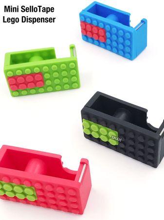 MINI SELLO TAPE LEGO DISPENSER - Stationery Kit - M MART ONLINE SHOP