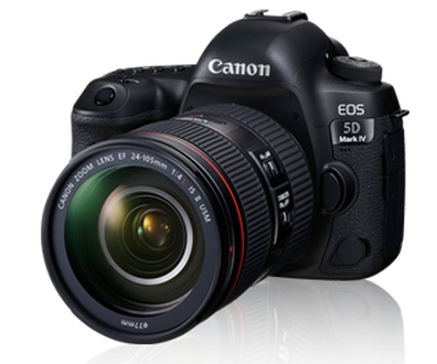 Canon EOS 5D Mark IV Kit EF 24 - 105 IS II USM 30.4 MP DSLR Camera