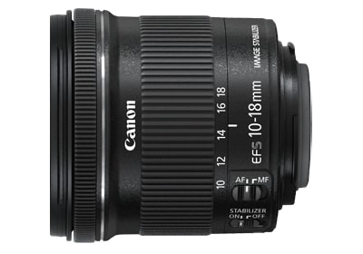 Canon EF S10-18mm F 4.5-5.6 IS STM
