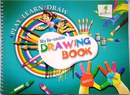 my reusable drawing book reusable books kids treasures
