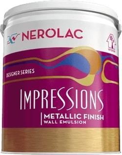 Nerolac Impressions Eco Clean Paint - Green (1 Litre)