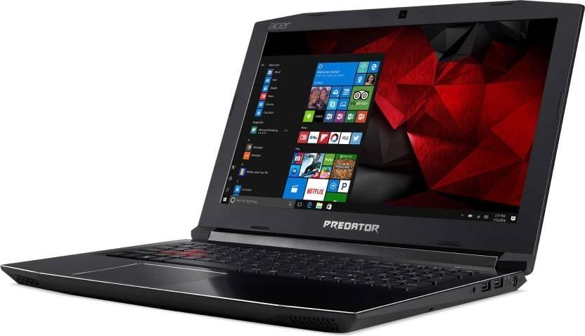 Acer Predator Helios 300 G3-572 39.6 Cm (15.6) Black Laptop (8 GB, 1 TB, Intel Core I7, 4 GB, Windows 10 Home)
