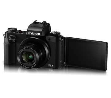 Canon PowerShot G5 X 20.2 MP Point & Shoot Camera