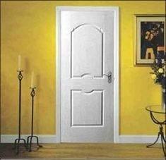 moulded panel doors two panel horizon textured