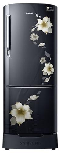 Samsung RR20M282ZB2/NL Direct Cool Single Door Refrigerator (192 Litres, 3 Star, Star Flower Black)