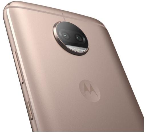 Moto G5s Plus (64 GB, Blush Gold)