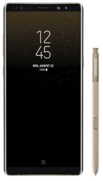Samsung Galaxy Note 8 (64 GB, Maple Gold) SMART VALUE PRODUCT
