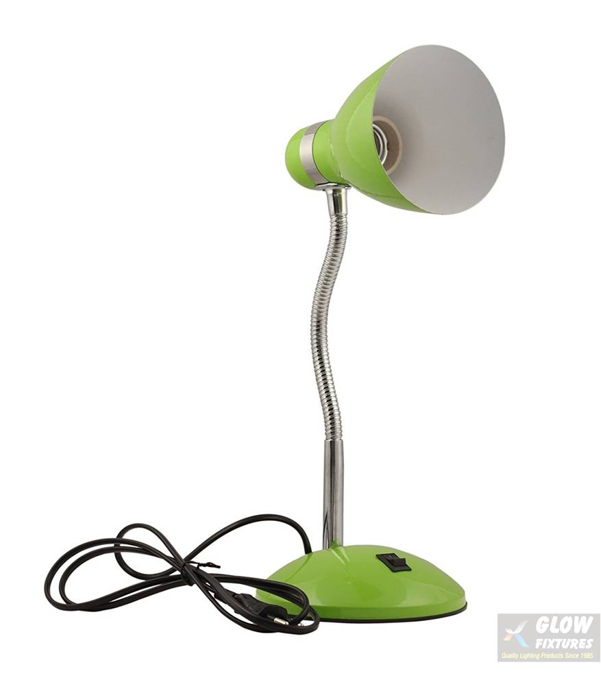 Glow Fixtures Metal Table Lamp Without Bulb (Green) -- Product Code: TL233I03-SPL