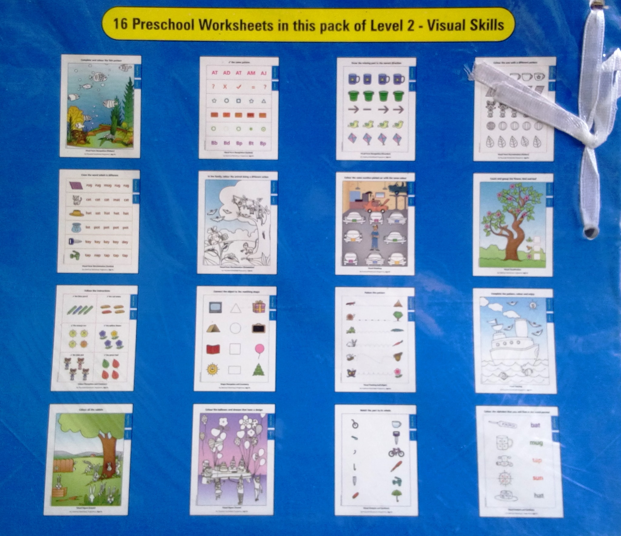 My Preschool Worksheets Visual Skills Level 2 (age 4+)
