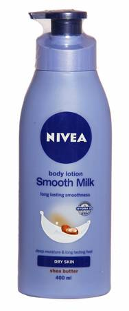 Nivea Smooth Milk Body Lotion For Dry Skin - 400 Ml