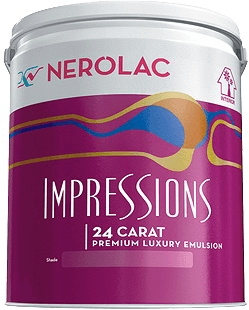 Nerolac Little Master Paint - Red (20 Litres)