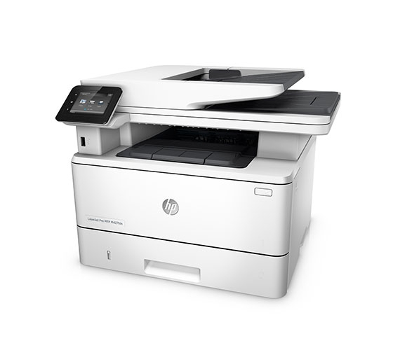HP LaserJet Pro MFP M427fdn Multi-Function Color Laser Printer (White)